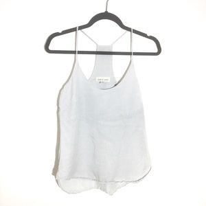 Anthropology Cloth & Stone Striped Racerback Tank